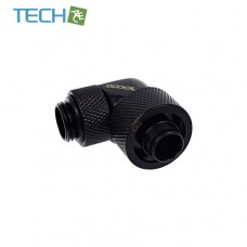 Alphacool Eiszapfen 16/10mm compression fitting 90° rotatable G1/4 - deep black