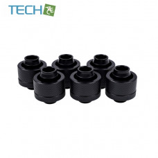 Alphacool Eiszapfen 19/13mm compression fitting G1/4 - deep black sixpack