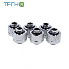 Alphacool Eiszapfen 19/13mm compression fitting G1/4 - chrome sixpack