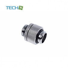Alphacool Eiszapfen double nippel rotatable G1/4 outer thread to G1/4 outer thread - chrome