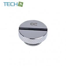 Alphacool Eiszapfen screw plug G1/4 - chrome