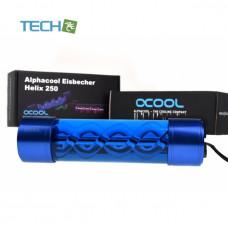 Alphacool Eisbecher Helix 250mm reservoir - blue