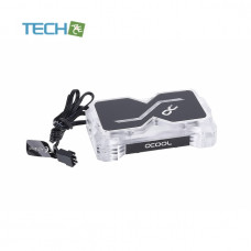 Alphacool GPX SLI Connector Dual - Acrylic - Addressable RGB - 3 PCI-E Space