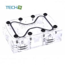 Alphacool GPX SLI Connector - Dual - Acrylic