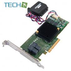 Adaptec RAID 7805Q 8-Port PCI-Express 3.0 x8 SAS/SATA RAID Controller Card w/ maxCache 3.0, Single