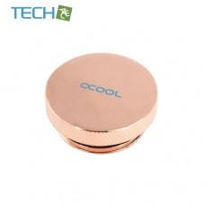Alphacool screw plug 1 Inch - copper