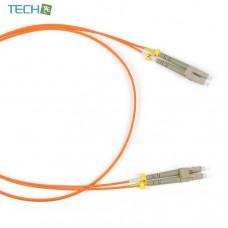 FC-62-LC-LC-PC-1M - Patch cord fiber optic (cable) MM 62.5 / 125, LC-LC, duplex, LSZH, 1m