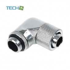 Alphacool 13/10 compression fitting 90° revolvable G1/4  Chrome
