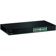 Trendnet TPE-S160 - 16-Port 10/100Mbps PoE Switch