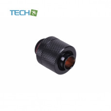 Alphacool 13/10mm (10x1,5mm) compression fitting G1/4 - knurled - matte black