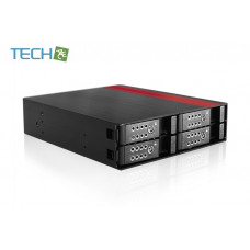 "iStarUSA BPU-124DE-SS - 1x 5.25 to 4x 3.5"" SAS/SATA 6.0 Gb/s Hot-Swap"