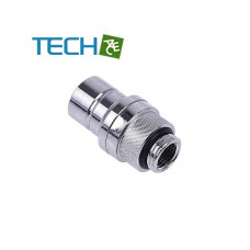 Alphacool Eiszapfen quick release connector male G1/4 outer thread - Chrome