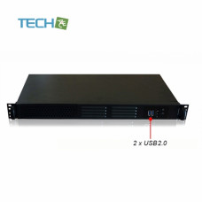 TechAce CP-G125 - 1U most compact Rackmount