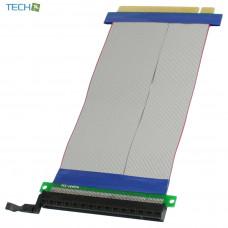 CP-PCIE100-16-RC 1 Slot PCI-E 16X riser card with ribbon cable 1U 2U
