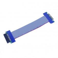 CP-PCIE100-4-RC 1 Slot PCI-E 4X riser card w/ribbon cable 1U 2U