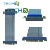 CP-PCIE100-8-RC - 1 Slot PCI-E 8X riser card w/ribbon cable
