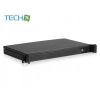 iStarUSA D-118V2-ITX - 1U Compact Rackmount Mini-ITX Chassis