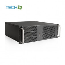 iStarUSA D-314-MATX - 3U Compact Rackmount compatible with PS2 Power Supply