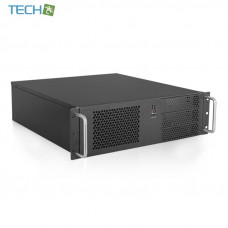 iStarUSA D-314E-MATX - 3U Compact Rackmount Chassis compatible with PS2 Power Supply