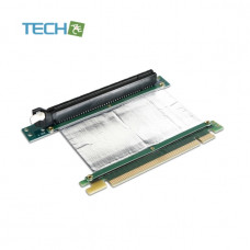 iStarUSA DD-766R-C5-02 PCIe x16 to PCIe x16 Reversed Riser Card with 5cm Ribbon Cable 1U 2U