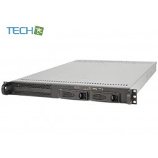 EDN-102H65 - 1U IDC 2x 3,5 Hot Swap Server Chassis