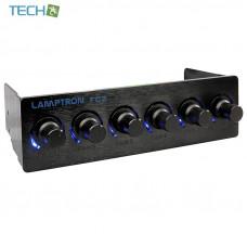 Lamptron FC2 - 5.25 6-channel fan controller,45W/chabbel,3-pin fan