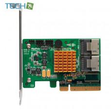 HighPoint RocketRAID 2720SGL 6Gb/s 8-Channel PCI-E x8 SAS RAID Controller, Retail