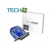 Louqe TWINAX PCI-e RC260 GEN 4  COBALT riser cable