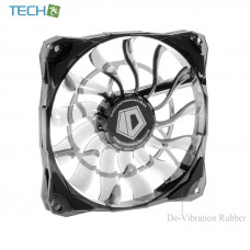 ID-COOLING NO-12015 - Super slim 15mm PWM controlled with De-Vibration Rubber fan