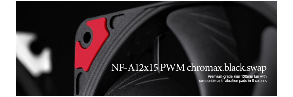 Noctua NF-A12x15 PWM chromax.black.swap