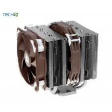 ID-Cooling SE-205K Twin Tower Heatsink Design with 5 Pieces 8mm Heatpipe, one 140mm and one 120mm PWM Fan