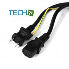 I-SHENG PSE-C13/2P E1.5M - PSE Japan Power Cord Cable