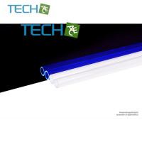 Alphacool HardTube 13/10mm acrylic clear UV-Blue 40cm - 4pcs