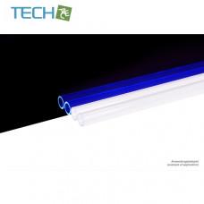 Alphacool HardTube 13/10mm acrylic clear UV-Blue 60cm - 4pcs