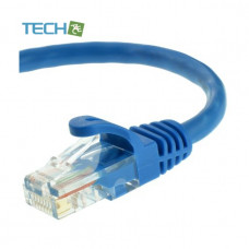 TA-LC5E-1MB - Cat5e Ethernet Patch Cable (1 Meter) - RJ45 Computer Networking Cord - Blue