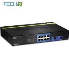 Trendnet TEG-082WS - 8-Port Gigabit Web Smart Switch