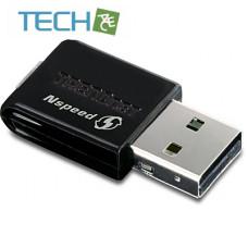 TRENDnet TEW-649UB - Mini Wireless N Speed USB Adapter