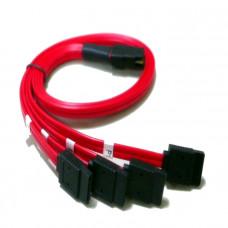 SAS8087-4SATA-05MR - 50cm Mini SAS 4i SFF-8087 36-Pin to 4 SATA 7-Pin (Reverse)