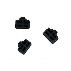 TechAce Ethernet RJ45 port jack Anti dust cover cap 10pcs