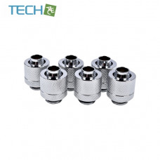 Alphacool Eiszapfen 13/10mm compression fitting G1/4  chrome sixpack