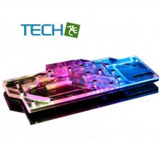 Alphacool Eisblock Aurora Acrylic GPX-A Radeon RX 5700 XT Taichi X8 8G OC