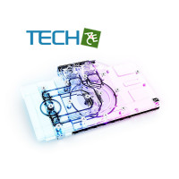 Alphacool Eisblock Aurora Acrylic GPX-N RTX 3070 Ventus with Backplate