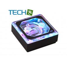 Alphacool Eisblock XPX Aurora Edge - Acrylic Black Digital RGB