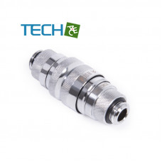 Alphacool Eiszapfen quick release connector kit G1/4 outer thread - Chrome