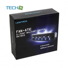 LAMPTRON fan-actic 5 port Military Switch Baybus - Black