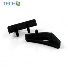 Noctua NA-SAVP1 - Chromax Anti-Vibration Fan Mount Set - 16 Pack - Black (NA-SAVP1 black)