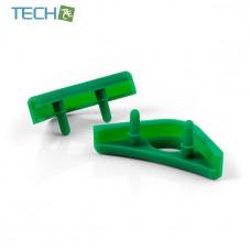 Noctua NA-SAVP1 - Chromax Anti-Vibration Fan Mount Set - 16 Pack - Green (NA-SAVP1 green)