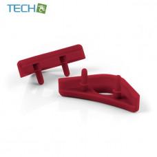 Noctua NA-SAVP1 - Chromax Anti-Vibration Fan Mount Set - 16 Pack - Red (NA-SAVP1 red)