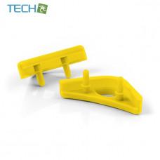 Noctua NA-SAVP1 - Chromax Anti-Vibration Fan Mount Set - 16 Pack - Yellow (NA-SAVP1 yellow)