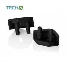 Noctua NA-SAVP5 - Chromax Anti-Vibration pads - 16 pack - Black (NA-SAVP5 black)